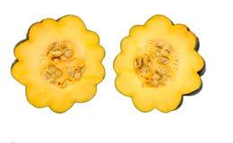 Mango dos de la calabaza Imagen de archivo libre de regalías