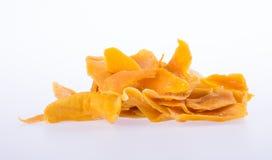 mango dry or dried mango slices on background. Stock Image