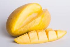 mango mango dulce en fondo Imágenes de archivo libres de regalías
