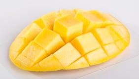 mango mango dulce en fondo Fotos de archivo