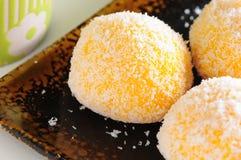 Mango dumpling dessert Royalty Free Stock Image