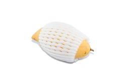 Mango in een schokbestendig plastiek Stock Foto's