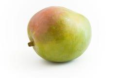 Mango Fruit. Sideways lying on white background Royalty Free Stock Photography