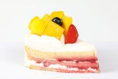 Mango fruit cake Royalty Free Stock Photography