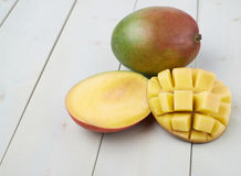 Mango fruit composition Royalty Free Stock Photography