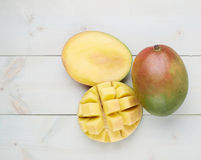 Mango fruit composition Stock Photography