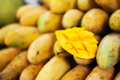 Mango Fruit In Nature With Soft Light Stock Photography
