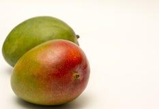 Mango fruit isolated on a white backgound Royalty Free Stock Image