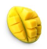 Mango fruit isolated. Royalty Free Stock Images