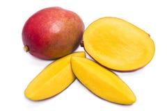 Mango fruit. Isolated on white background Royalty Free Stock Photography