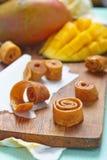 Mango fruit leather Royalty Free Stock Image