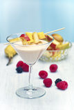 Mango fruit shake Royalty Free Stock Image
