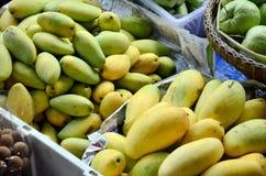 Mango Fruit Shop. In Klong Lat Mayom Canal Floating Market at Bangkok Thailand Royalty Free Stock Image