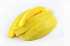 Mango. Fruit on white background Royalty Free Stock Photos