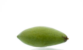 Mango. Fruit on white background stock photo