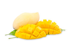 Mango fruit on white background Stock Photo