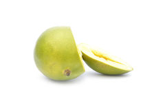 Mango fruit on white background Royalty Free Stock Image
