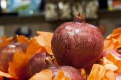 Mango fruits on display Stock Photos