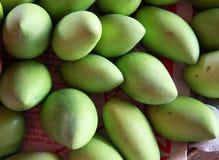 Mango fruits. Rambutan and mangosteen are the fruits of the international market Royalty Free Stock Photos