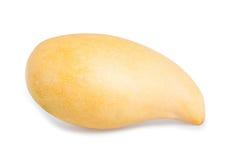 Mango giallo isolato su bianco Immagini Stock Libere da Diritti