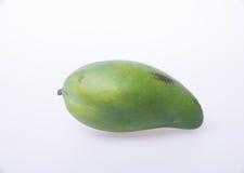 Mango of groene mango op een achtergrond Royalty-vrije Stock Fotografie