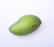 Mango of groene mango op een achtergrond Stock Afbeelding