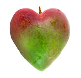 Mango heart Stock Images