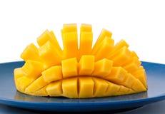 Mango Hedgehog Cut Royalty Free Stock Photo