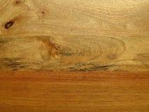 Mango houten korrel die op surreal landschap lijkt Royalty-vrije Stock Foto