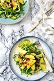 Mango i avocado sałatka Obrazy Stock