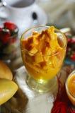 Mango ice cream Stock Image