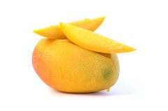 Free Mango Isolated On White Royalty Free Stock Photo - 6795345