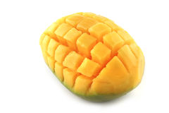 Mango isolated over white Stock Photo