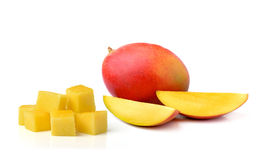 mango isolated on white background Royalty Free Stock Image
