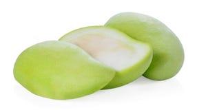 Mango isolato su fondo bianco Immagini Stock Libere da Diritti