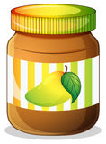 A mango jam in a bottle Stock Images