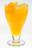 Mango Juice. A glass of fresh yellow mango juice, healthy drink Stock Photo