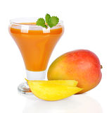 Mango juice Stock Image