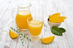Mango juice Stock Photos