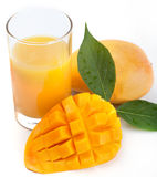 Mango juice Royalty Free Stock Photos