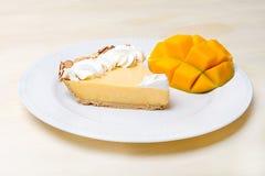 Mango Key Lime Pie Stock Photos