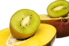 Mango and Kiwi Stock Images
