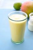 Mango lassi smoothie drink. Stock Images