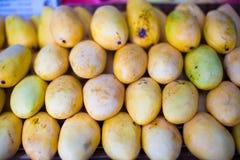 Mango in the local market on island of Boracay Royalty Free Stock Photo