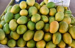 Mango Local market Royalty Free Stock Images