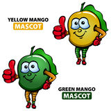 Mango Mascot Royalty Free Stock Photography