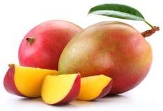 Mango met plakken Stock Afbeeldingen