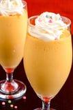 Mango-Milchshake Stockbild