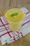 Mango milk shake Stock Images