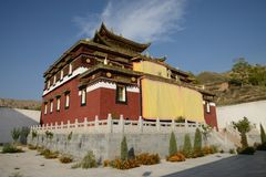 Mango monastery Stock Photos